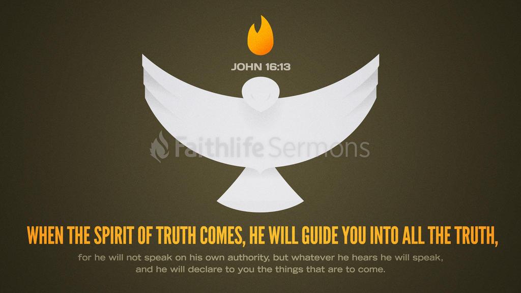 John 16:13 large preview
