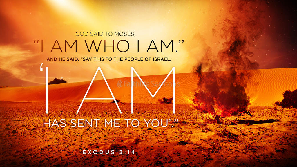 Exodus 3:14 large preview