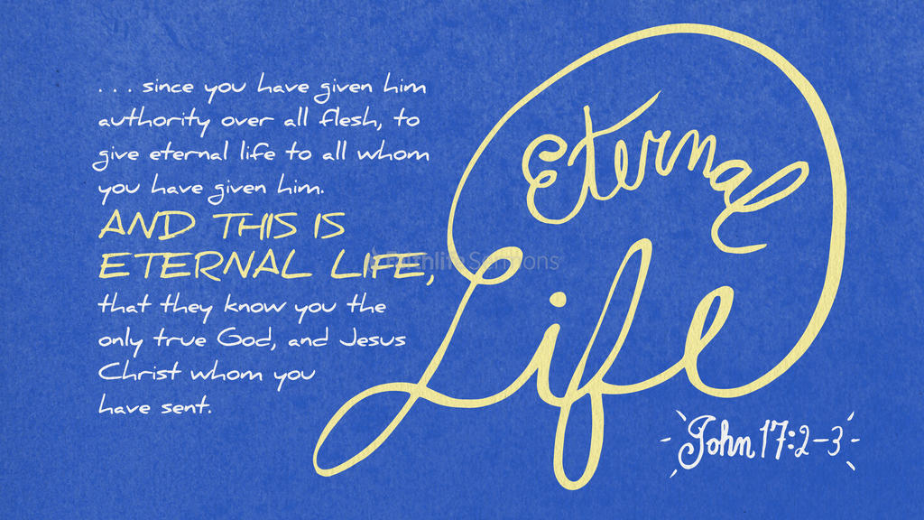 John 17:2–3 large preview
