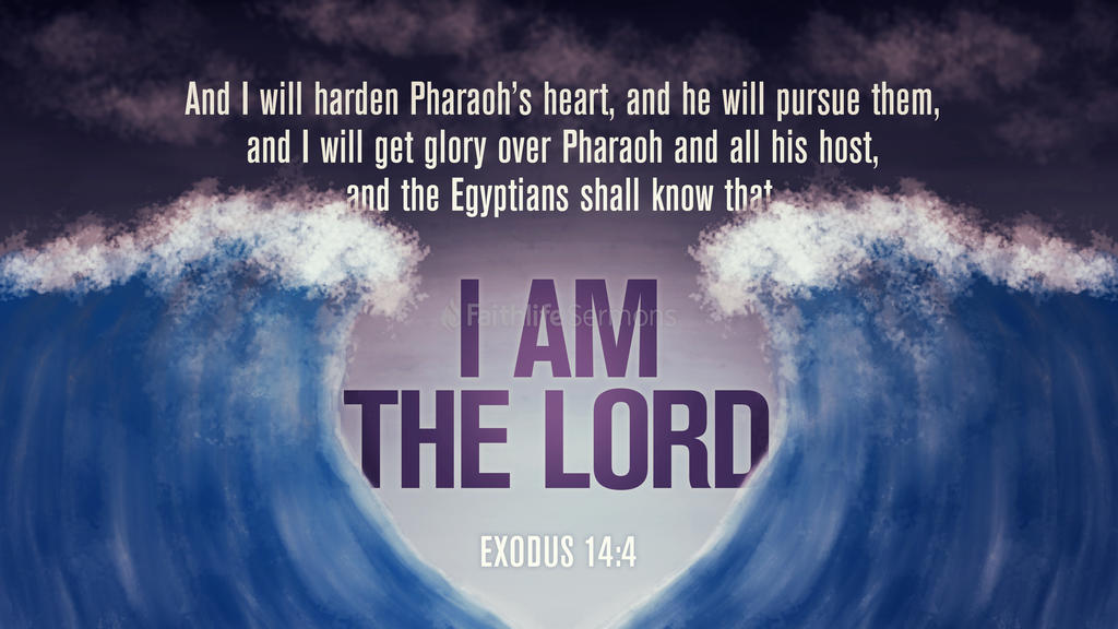 Exodus 14:4 large preview