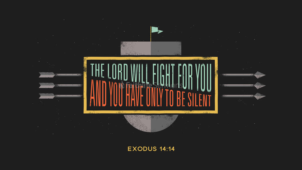 Exodus 14:14 large preview