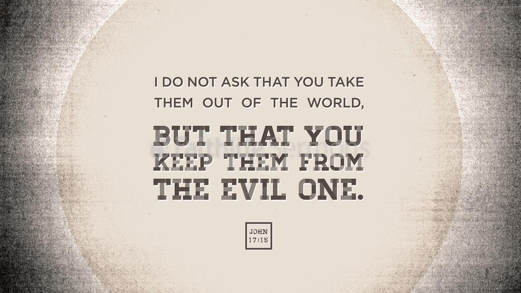 John 17:15 large preview