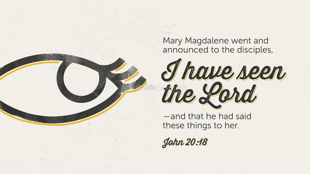 John 20:18 large preview