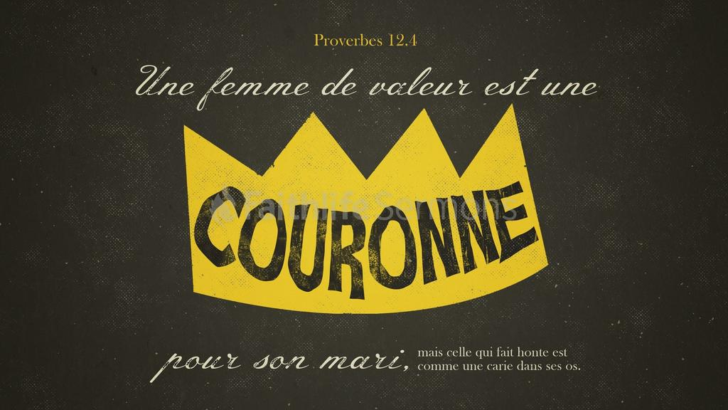 Proverbes 12 preview