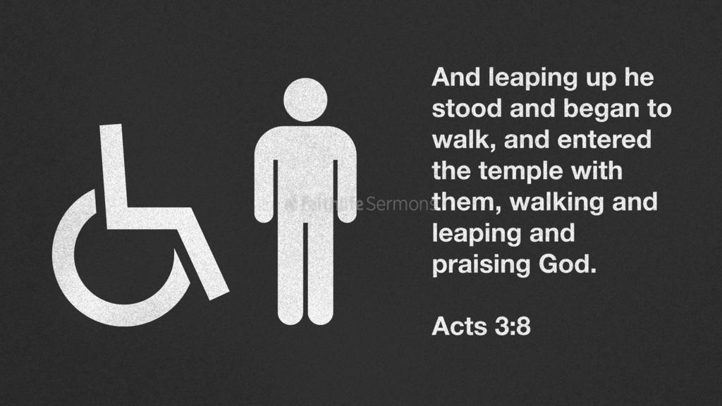 Acts 3:8 large preview