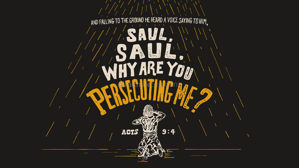 Acts 9:4 large preview