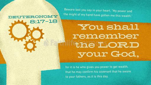 Deuteronomy 8:17–18
