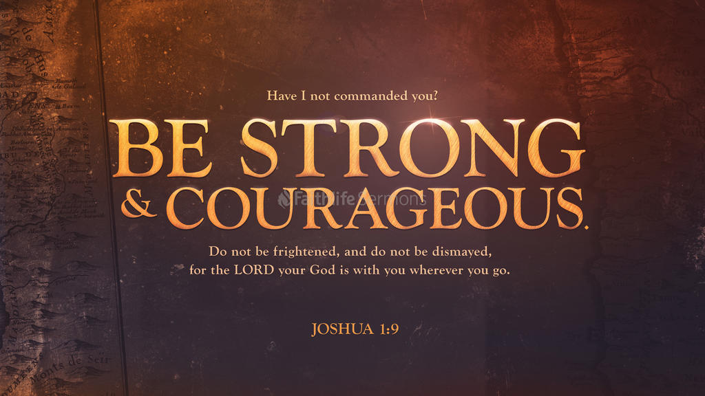 Joshua 1:9 large preview