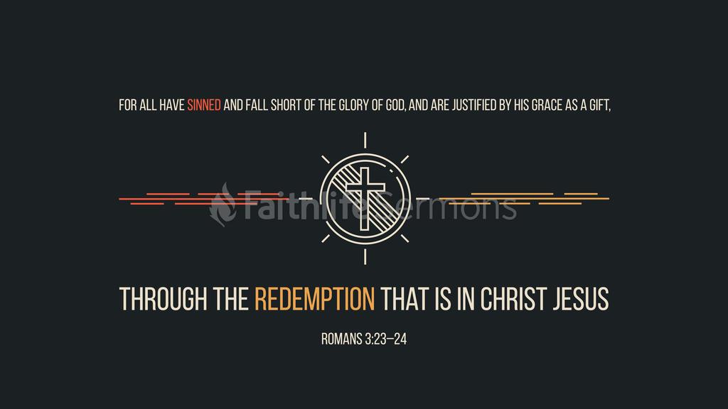 Romans 3:23–24 large preview