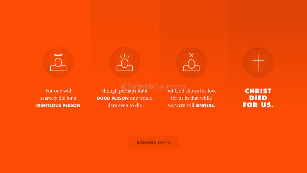 Romans 5:7–8 large preview