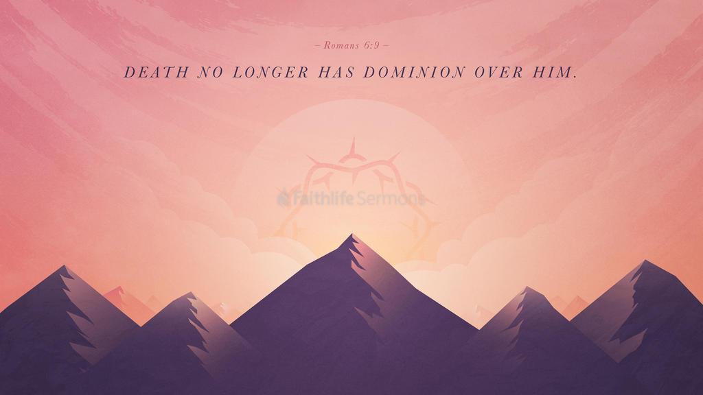 Romans 6:9 large preview
