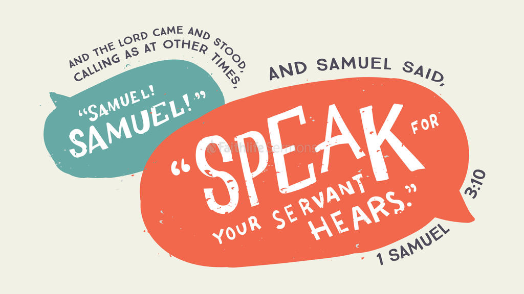 1 Samuel 3:10 large preview