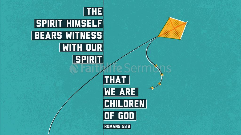 Romans 8:16 large preview