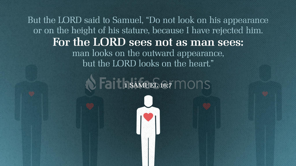 1 Samuel 16:7 large preview