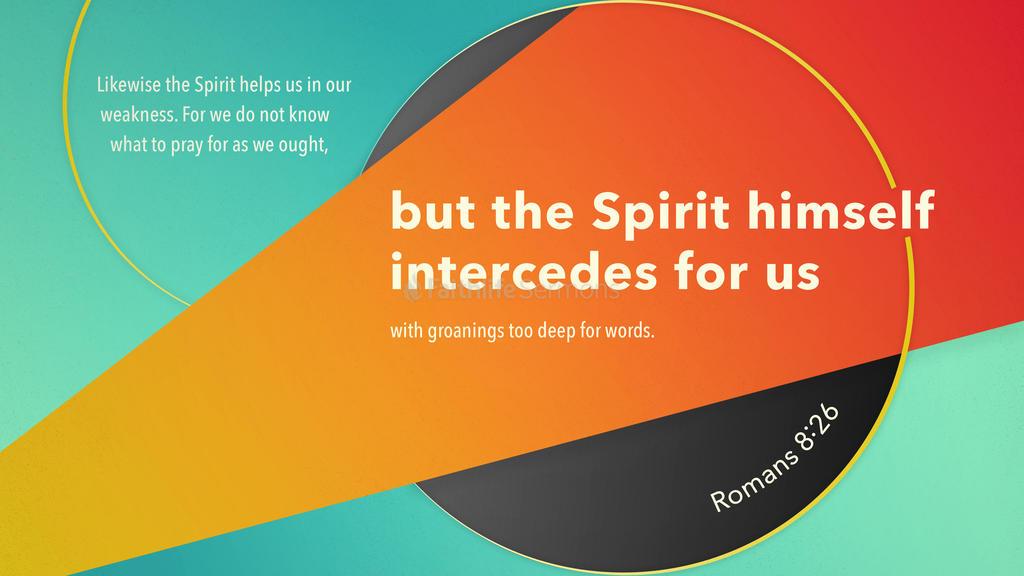 Romans 8:26 large preview