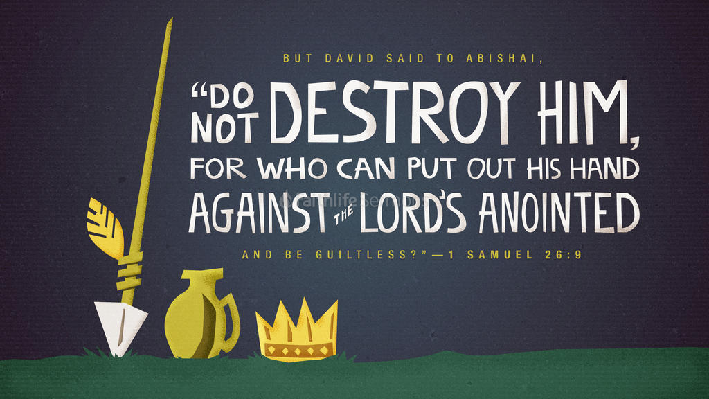 1 Samuel 26:9 large preview