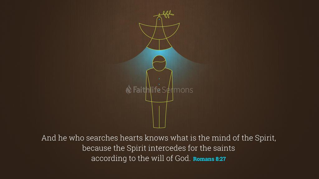 Romans 8:27 large preview