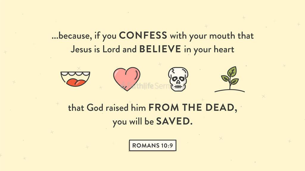 Romans 10:9 large preview