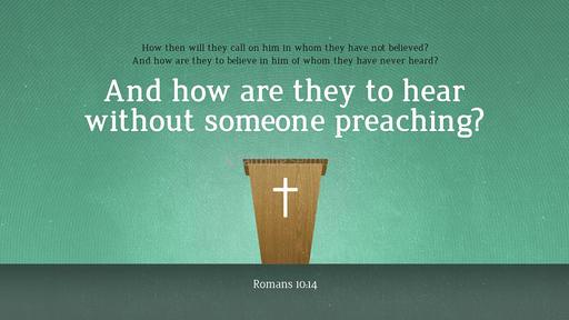 Romans 10:14