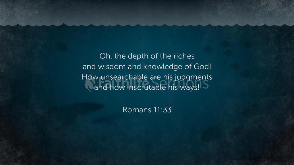 Romans 11:33 large preview