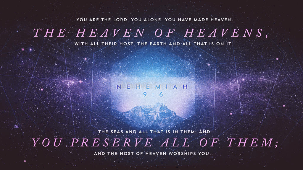 Nehemiah 9:6 large preview