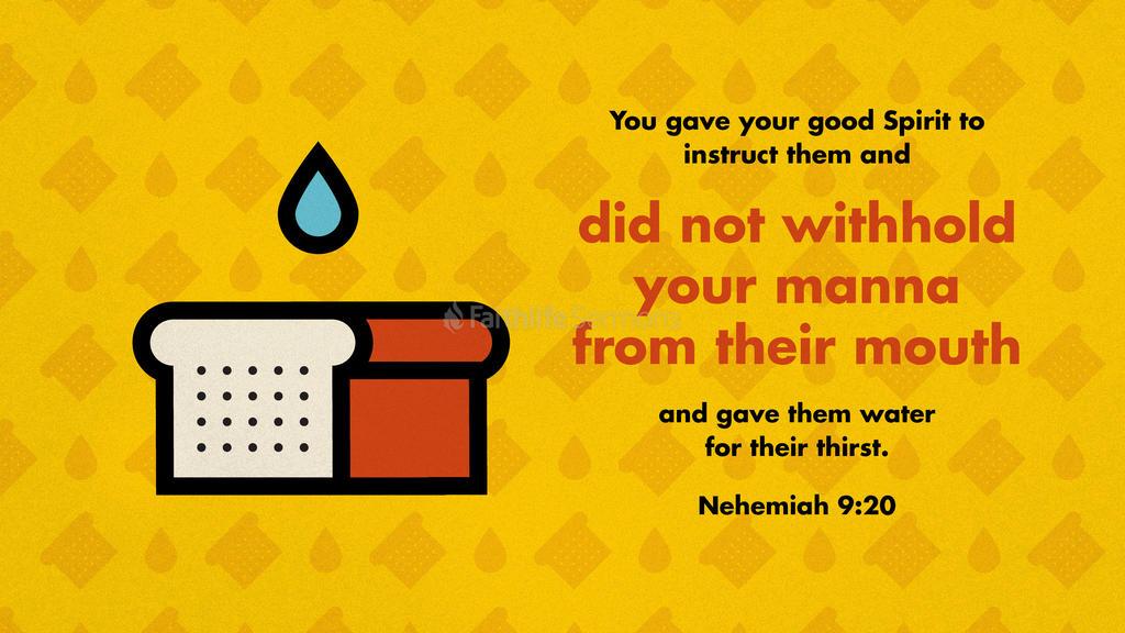 Nehemiah 9:20 large preview