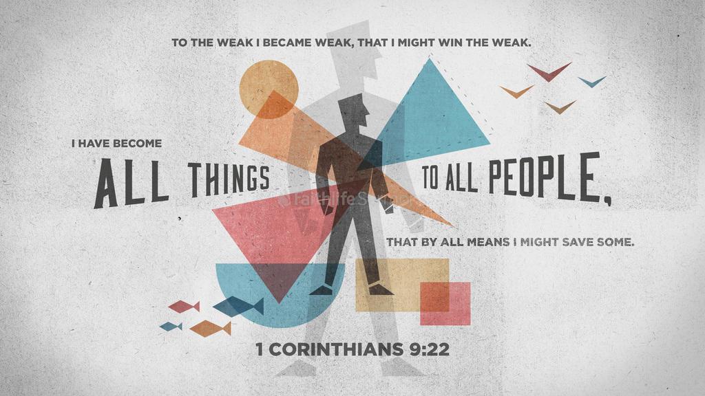1 Corinthians 9:22 large preview
