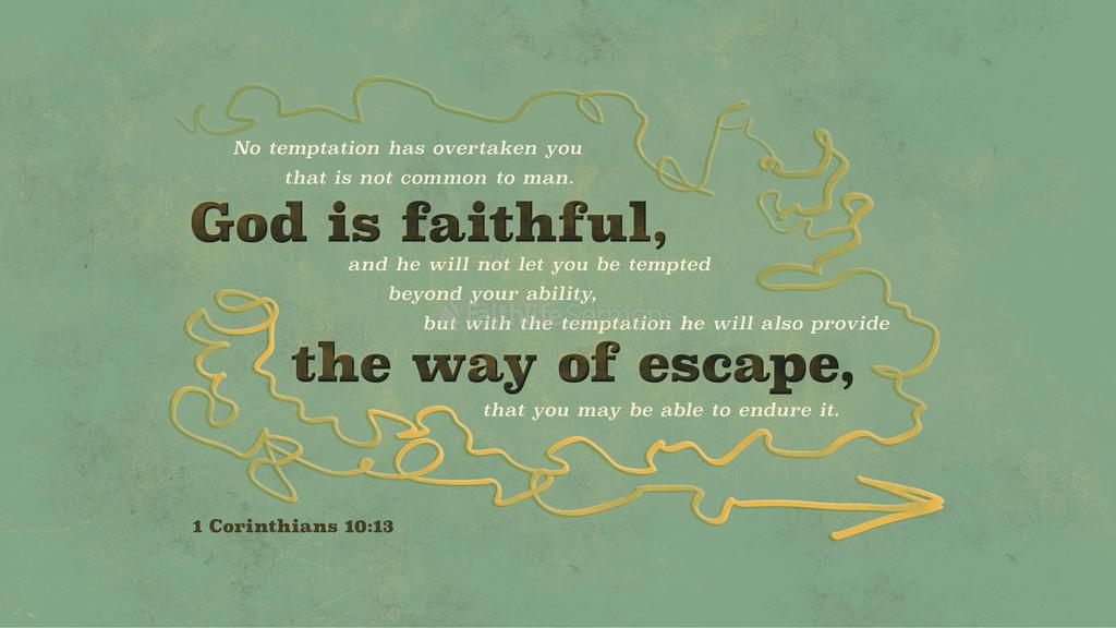 1 Corinthians 10 13 3840x2160 preview