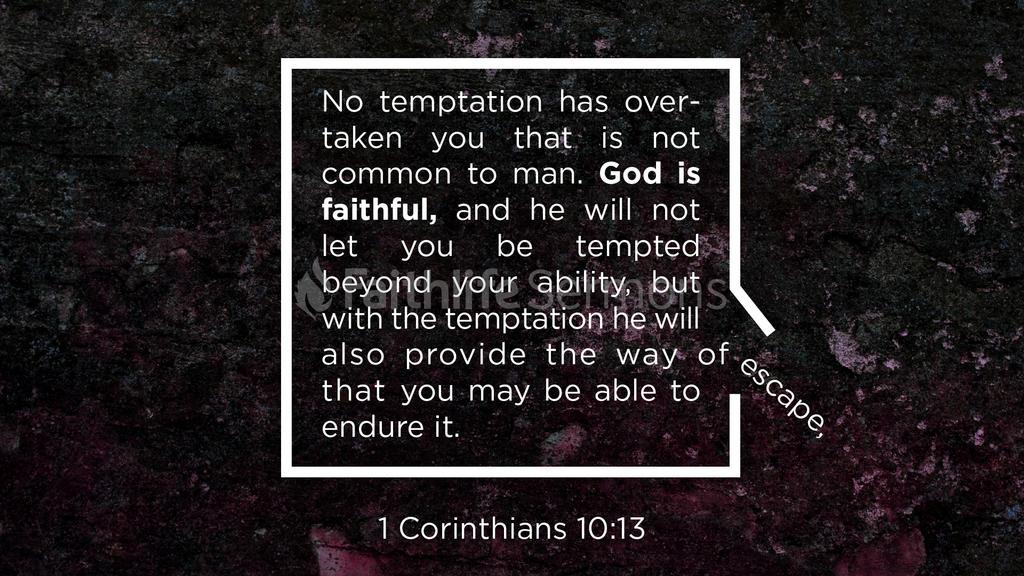 1 Corinthians 10:13 large preview