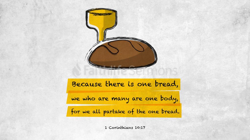 1 Corinthians 10:17 large preview