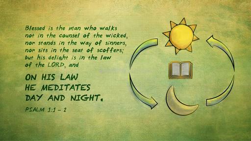 Psalm 1:1–2