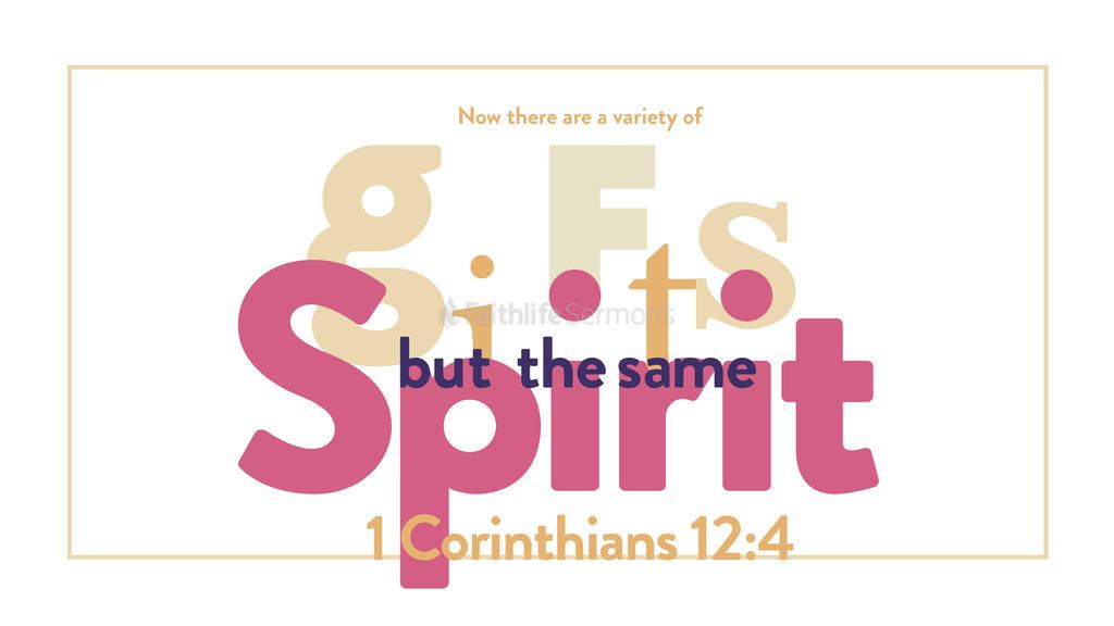1 Corinthians 12:4 large preview