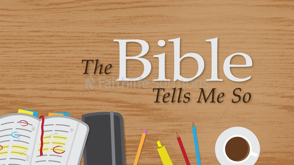 The Bible Tells Me So large preview