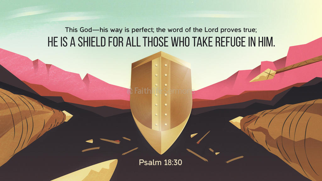 Psalm 18:30 large preview