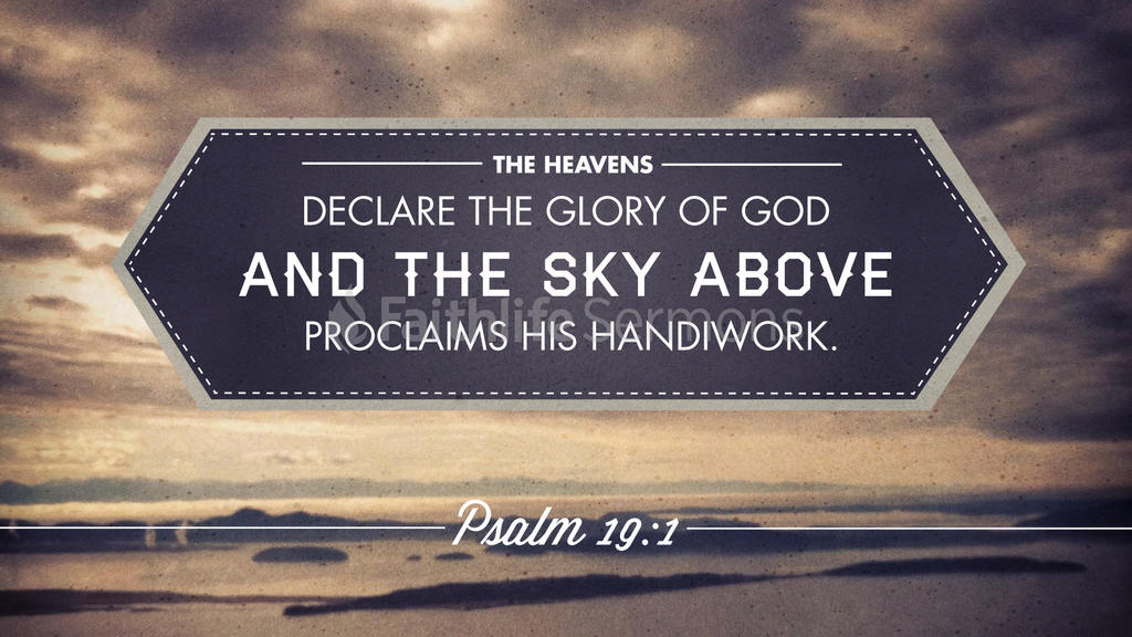 Psalm 19:1 large preview