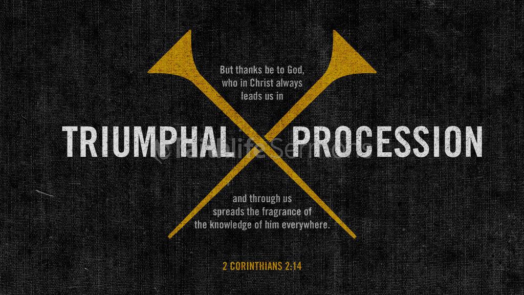 2 Corinthians 2:14 large preview