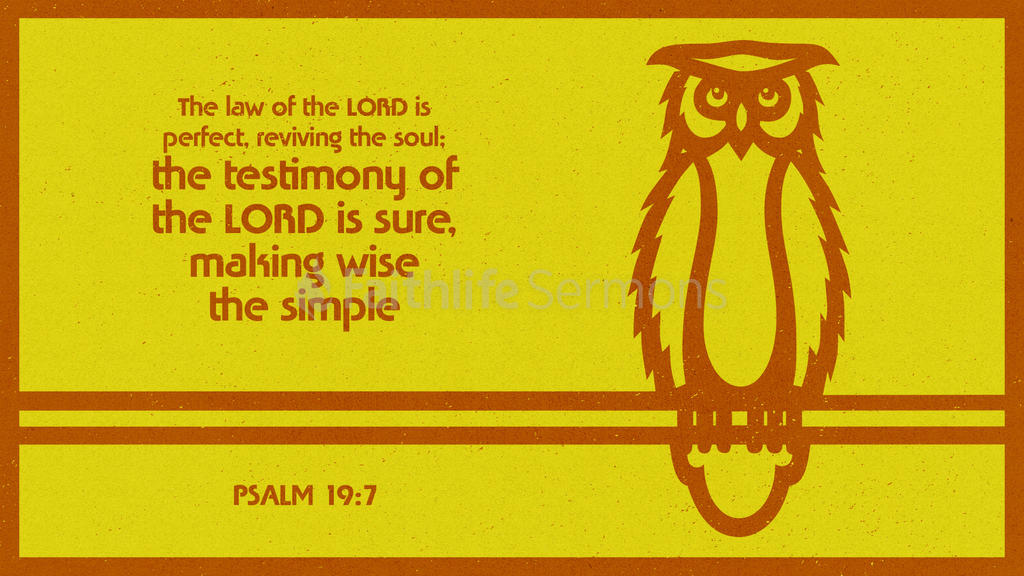 Psalm 19:7 large preview