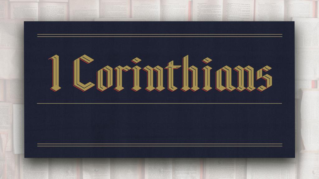 1 Corinthians large preview