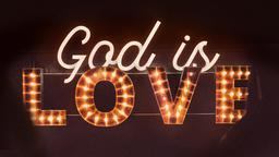 God Is Love 16x9 PowerPoint image