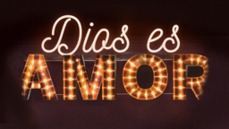 God Is Love dios es amor 16x9 PowerPoint image