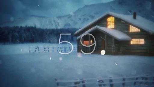 Winter Cabin - Countdown 1 min