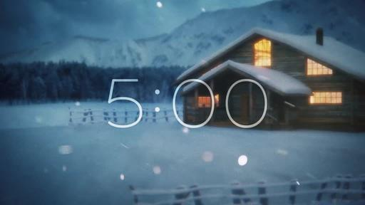Winter Cabin - Countdown 5 min