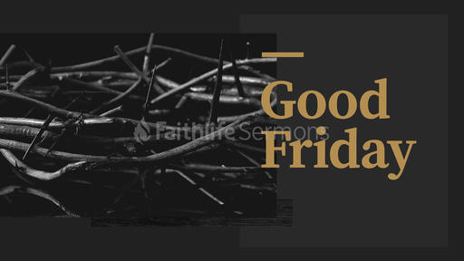Good Friday: It is Finished