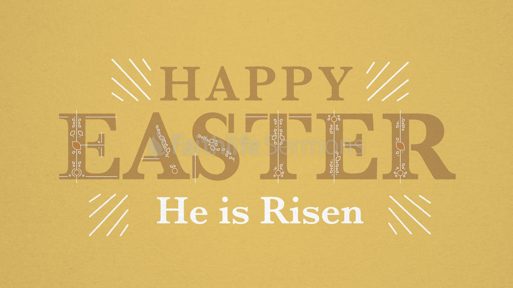 Easter: He is Risen large preview