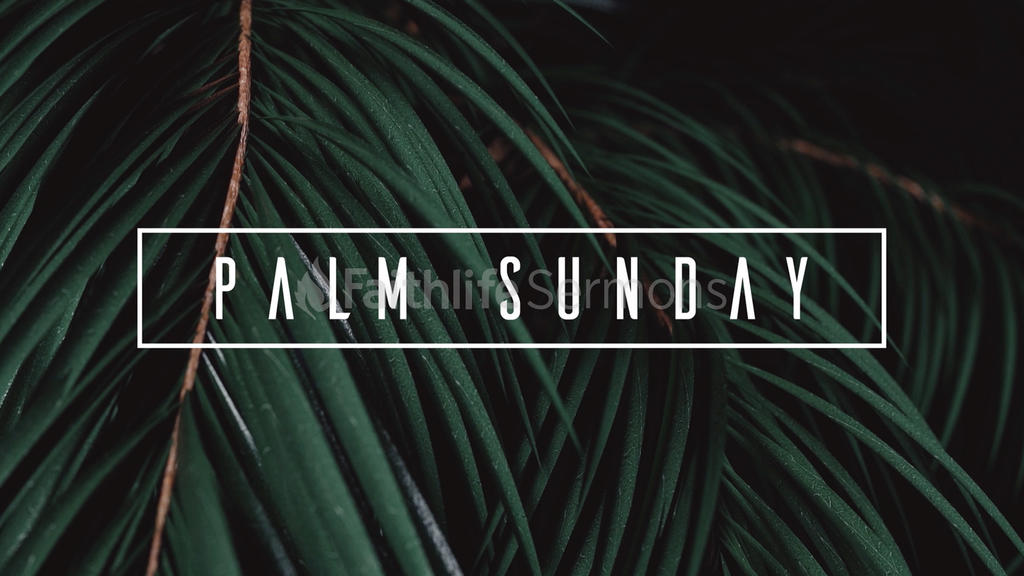 Palm Sunday Branches large preview
