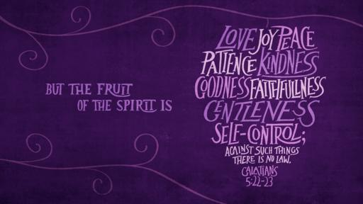 Galatians 5:22–23 verse of the day image