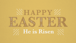 Easter: He is Risen  PowerPoint Photoshop image 1