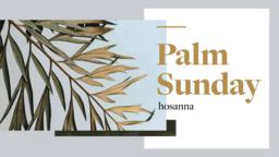 Palm Sunday: Hosanna  PowerPoint Photoshop image 1