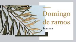 Palm Sunday: Hosanna  PowerPoint Photoshop image 5