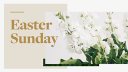 Happy Easter subheader 16x9 PowerPoint Photoshop image
